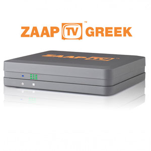 ZAAPTV Greek IPTV with 2 Years Subscription