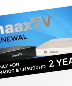 MAAXTV 2 Year Renewal PIN LN4000 LN5000HD