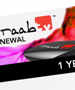 ARAABTV 1 Year Renewal Card / PIN