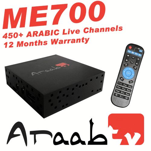 ARAABTV ME700 Arabic TV Channels - New 2018 Model