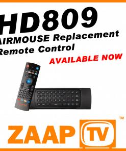 ZAAPTV HD809 Airmouse Remote Control