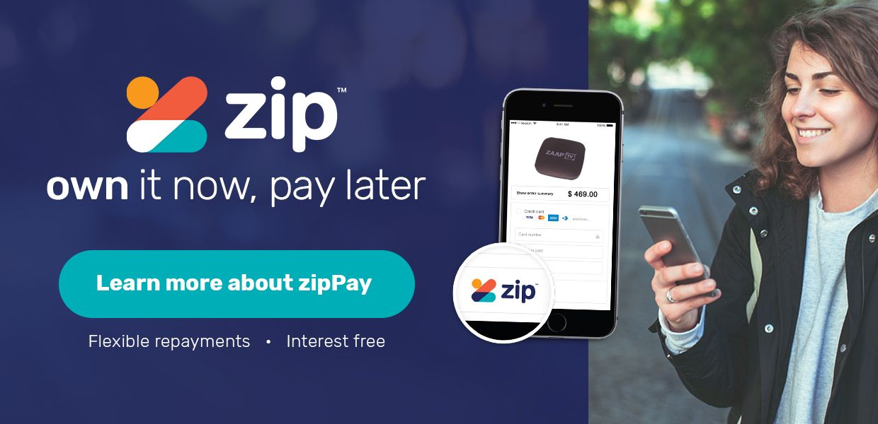 ZIP Pay and ZIP Money now Available at GlobeTV.com.au